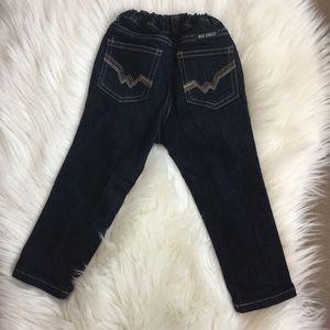 NEW Wrangler girls jeans size 2T